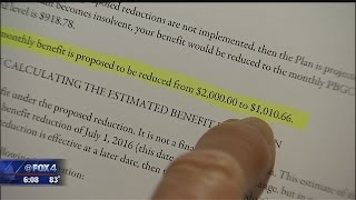 Retirees bracing for pension cuts