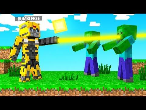 Minecraft BUT I'm a TRANSFORMER! (Crazy Craft)