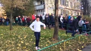Народный сход погромы и аресты в Бирюлево Видео С места событий №3