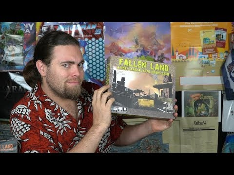 Fallen Land: A Post-Apocalyptic Board Game - Review