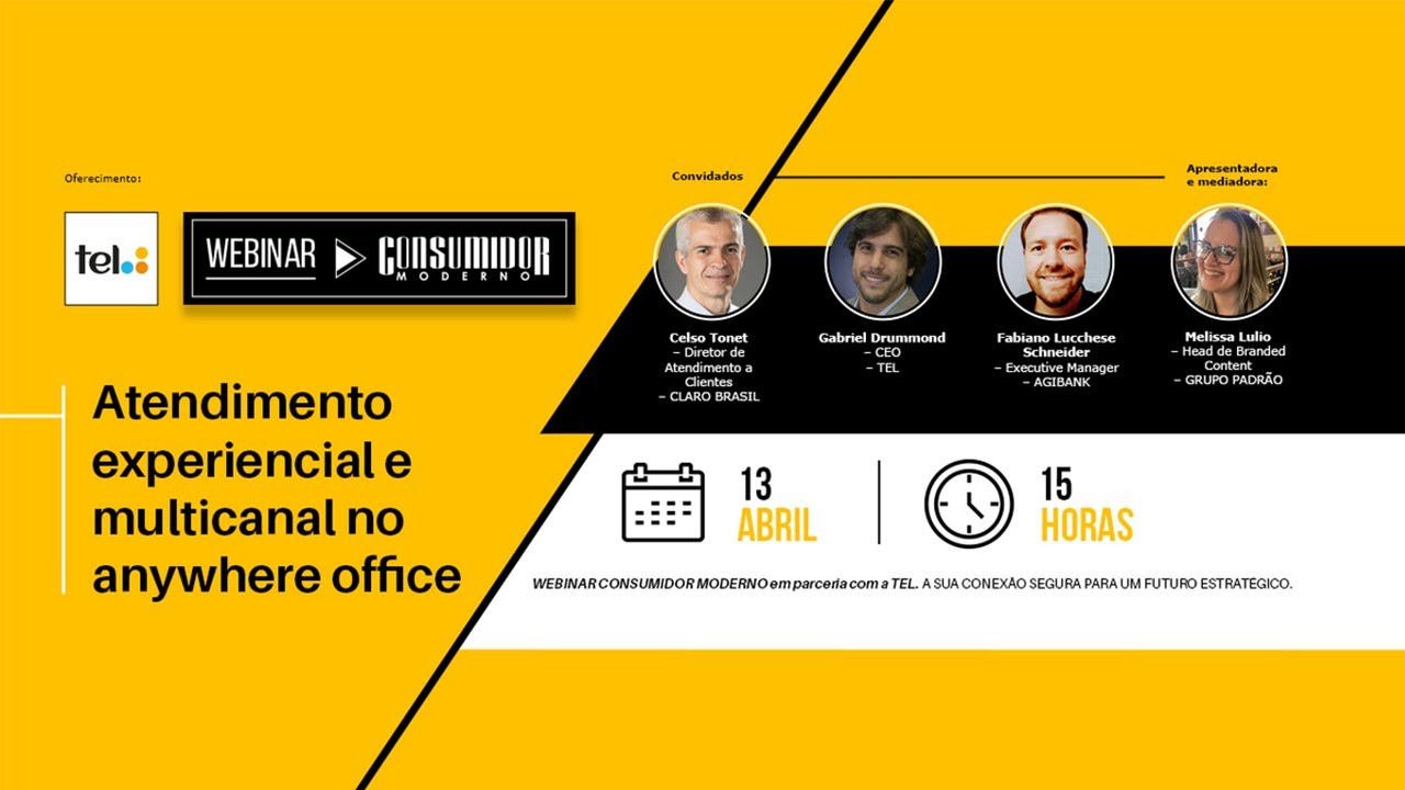 Webinar CM: Atendimento experiencial e multicanal no Anywhere Office