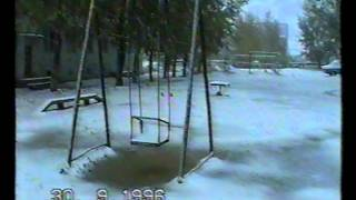 preview picture of video 'Державинск. Первый снег.'