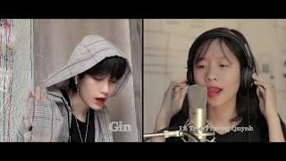 BÀI NÀY CHILL PHẾT  - Đen ft. MIN -(Cover)  Gin & Quỳnh