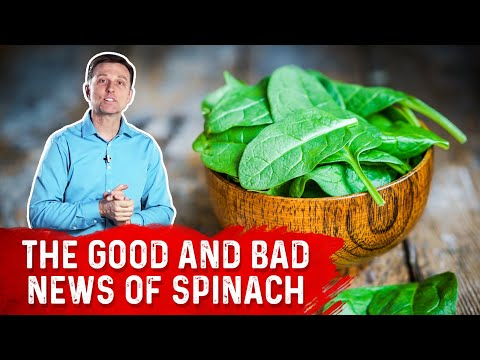 , title : 'The Good & Bad News of Eating Spinach'
