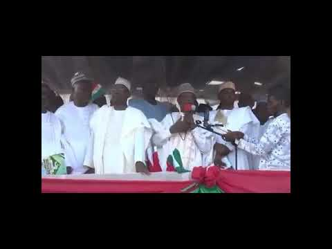 PDP Stage Collapse During Rally in Kebbi State, God Very angry with PDP