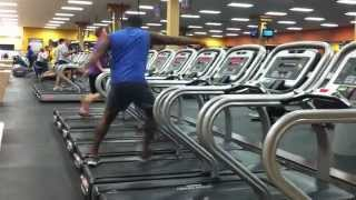 Dancing on Treadmill