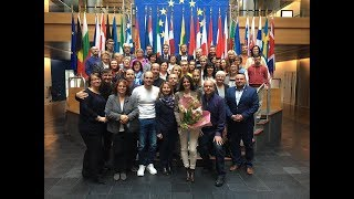 Októbrové stretnutie s návštevníkmi Európskeho parlamentu