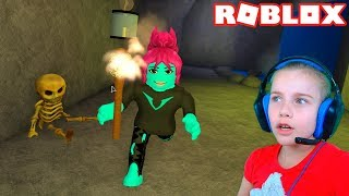 ПОБЕГ ИЗ ПЕЩЕРЫ в Роблокс приключение мульт героя в пещере Roblox