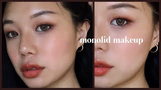 My 5 Go To Monolid Makeup Looks! Quick And Efficient Tutorial 👍