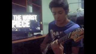 Chunk! No, Captain Chunk! - I Am Nothing Like You Guitar Cover)