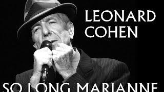 Hommage à Leonard Cohen - So Long Marianne