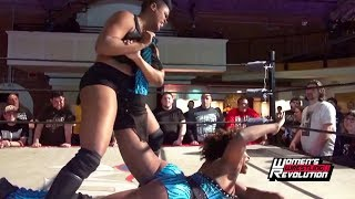 [Free Match] MJ Jenkins vs. Vanity | Women's Wrestling Revolution #BrickHouse (Impact, SHINE)