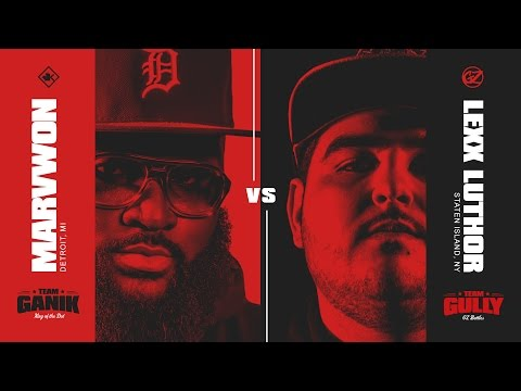 KOTD - Rap Battle - Marv Won vs Lexx Luthor   #GvG