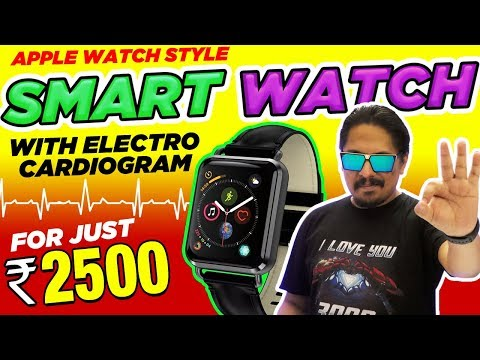 Cool Smartwatch with ECG