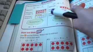1st Grade Subtraction Common Core