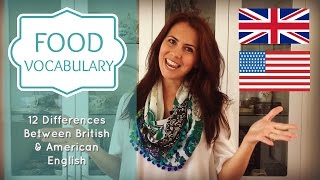Food Vocabulary | Confusing English Words | British vs American English | | Kholo.pk