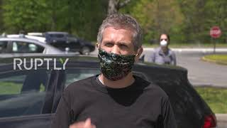 USA: Car protest demands relief from economic damage of coronavirus pandemic