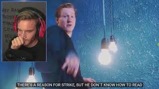 Реакция PewDiePie на DK - Дисс на шиморо