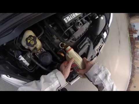 Die Prüfungen für die Bestimmung der Qualität des Benzins