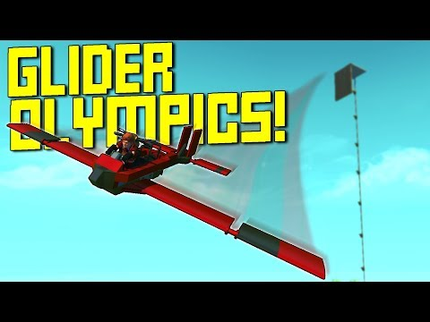 We Built Olympic Gliders For Distance and Accuracy! - Scrap Mechanic Multiplayer Monday