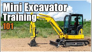 How To Operate A Mini Excavator (ep. 068)
