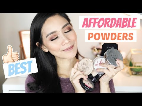 TOP 5 BEST AFFORDABLE POWDERS (For ALL Skin Types)