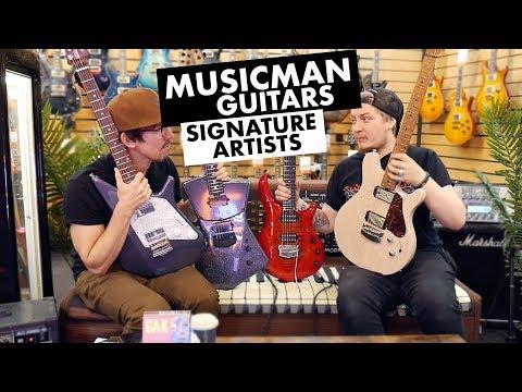 The Guitars Of Music Man | Signature Artists