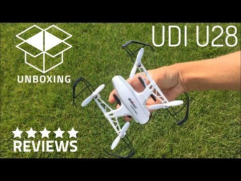 Drone Unboxing and Review | U28 UDI Kestrel FPV RC Quadcopter
