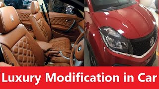 LUXURY MODIFICATIONS IN CAR. High End Accessories from Best Brands