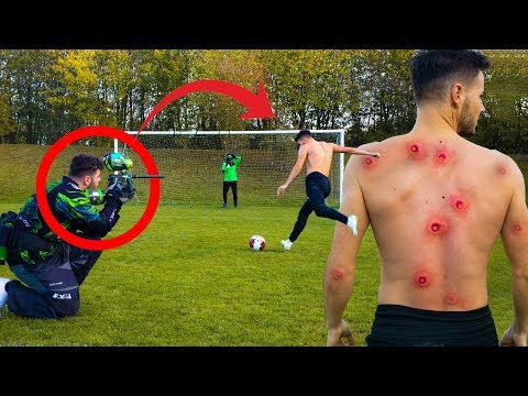 BRUTAL PAINTBALL PENALTY CHALLENGE!