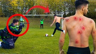 BRUTAL PAINTBALL PENALTY CHALLENGE!😱