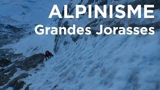 Grandes Jorasses Face Nord La Belle Hélène Pointe Hélène Chamonix Mont-Blanc montagne alpinisme