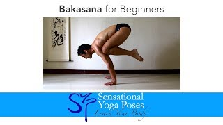 Bakasana for Beginners, Crow Pose Yoga Arm Balance by Neil Keleher