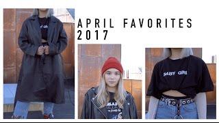 April Favorites 2017