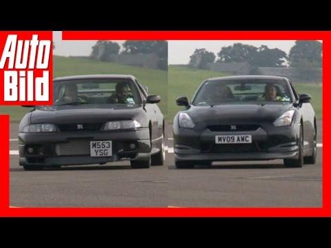 Drag Race Nissan Skyline R33 vs. Nissan GT-R (2017): Rennen - Duell - Geschwindigkeit