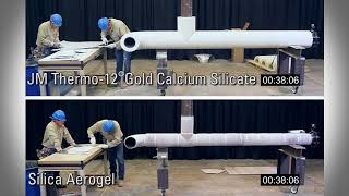 Calcium Silicate vs. Aerogel Installation