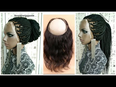 HOW TO: 360 Frontal Box Braid Wig