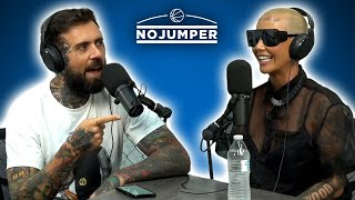 No Jumper - The Amber Rose Interview: Motherhood, OnlyFans, Kanye, 21 Savage & More