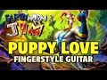 Earthworm Jim OST - Puppy Love (Fingerstyle guitar TABS, speed x2)