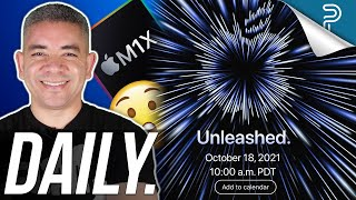 Apple's UNLEASHED Event LEAKED? Google Pixel 6 Extra Leaks & more!