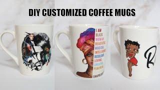 How To Make Customized Mugs | DIY MUGS (easy)