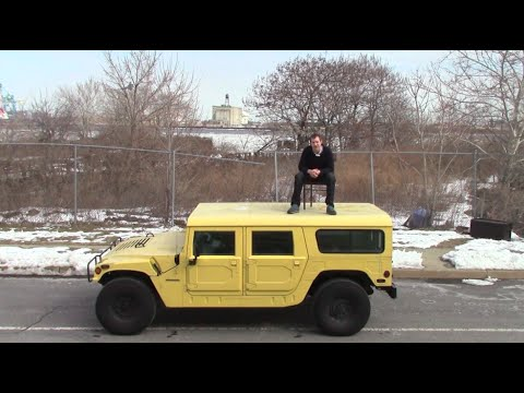 The Making of: Crushing a PT Cruiser With a Hummer