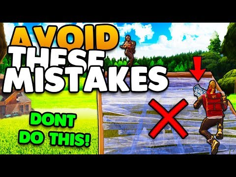 Avoid These Building Mistakes! | Win More Fights Tips & Tricks | Fortnite Battle Royale