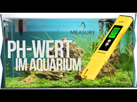 PH-WERT IM AQUARIUM MESSEN | MEASURY MESSGERÄT Review  | GarnelenTv