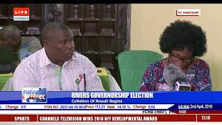 Rivers Governorship Election Collation Of Result Begins