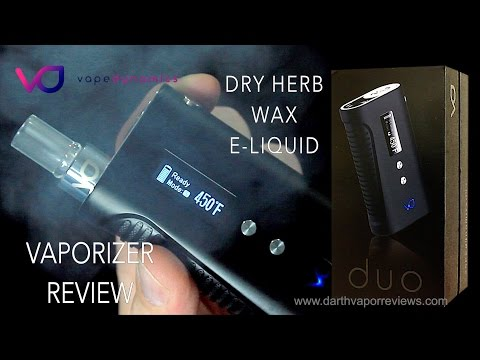 VapeDynamics: DUO Herbal,Wax,E-Liquid Vaporizer Review