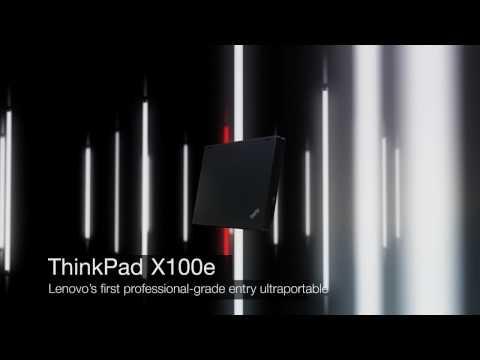 Lenovo ThinkPad X100e notebook product tour