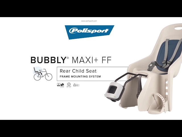 Видео Кресло Polisport Bubbly Maxi+ FF 29 Gold/Black