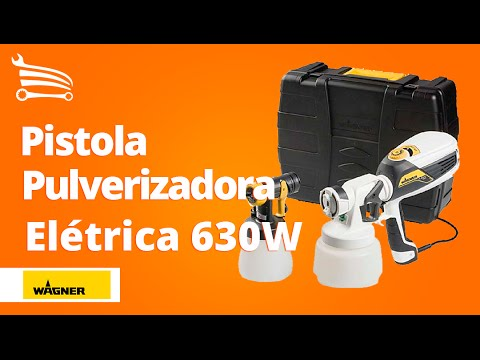 Pistola Pulverizadora Elétrica Flexio 630W  - Video