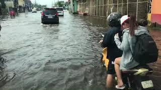 台風22号マンクットルソン島中部パンパンガ州の水害